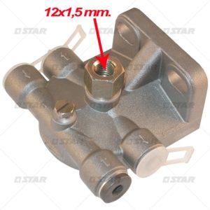Βάση φίλτρου για   (Iveco 12 mm)