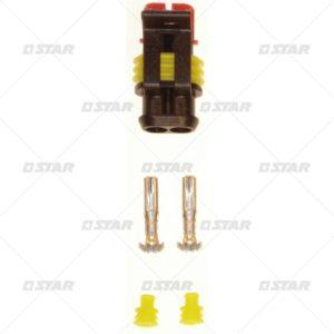 Φις πλαστικό (Για Θερμοστάτη και φίλτρο πετρελαίου  24v)