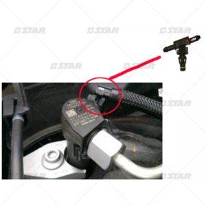 Κουμπώματα επιστροφών  μπέκ  Common Rail   (DELPHI) (VW)