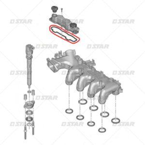 Λάστιχο καπακιού   (Citroen – Ford – Mazda – Peugeot – Volvo 1.6 HDI)