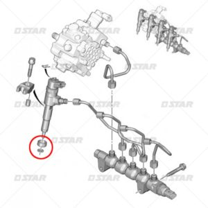 Σετ στεγανών  BOSCH   (Citroen – Peugeot)