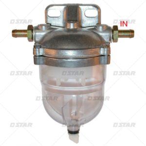 Κομπλέ νεροπαγίδα  mm14X1,5inlet/outlet mm8