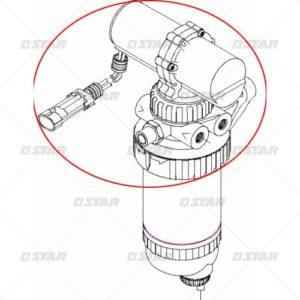 Ηλεκτρική αντλία 12V   (Case – New Holland)